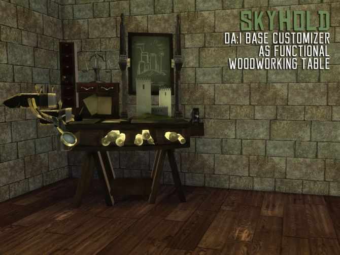 Sims 4 Updates: The Path Of Nevermore - Build / Walls / Floors, Objects, Decor, Terrain Paints : Dragon Age: Inquisition 3700 followers gift, Custom Content Download!