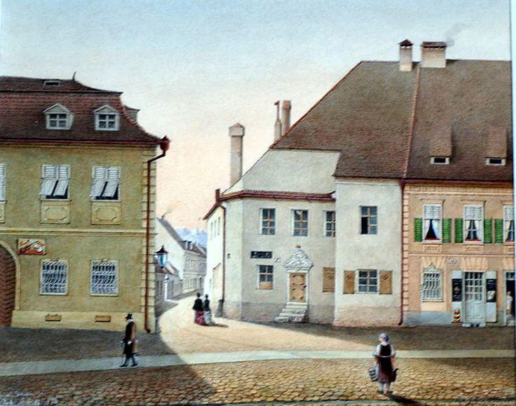 Johann Böbel - Street in Sibiu