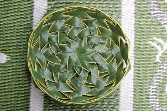 Coconut Palm Weaving Fruit Bowl Rosalindentree Weaving