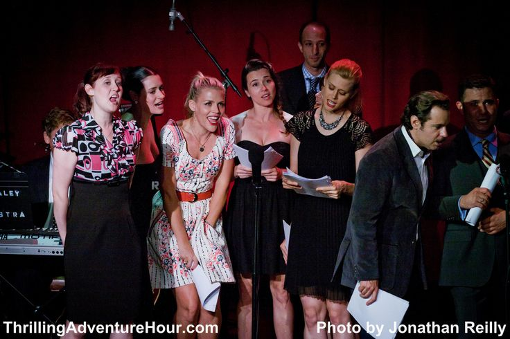 Paget Brewster, Busy Phillips, Linda Cardellini, Janet Varney, Paul F. Tompkins TAH August 2011 by Jonathan Reilly