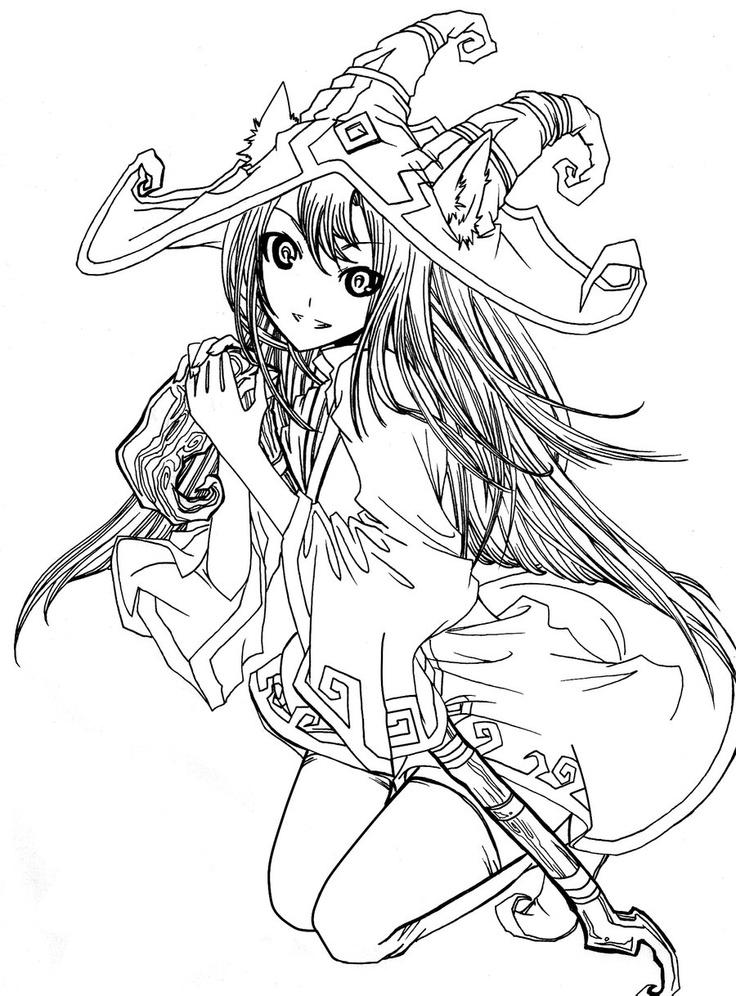 443 besten anime coloring bilder auf pinterest  drawing