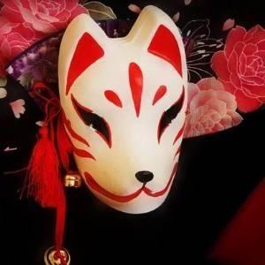 お面/狐/キツネ/コスプレ/衣装/ハロウィン/祭り屋台/仮装3