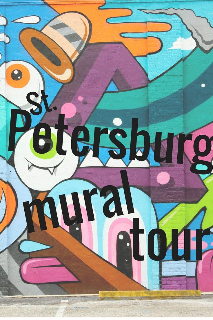 St. Petersburg, Florida has an amazing arts scene located in the city's Central Arts district.