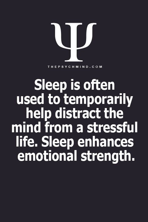 Yep and IF you can't sleep you are in physical and emotional TROUBLE.....ME!! #painsomnia