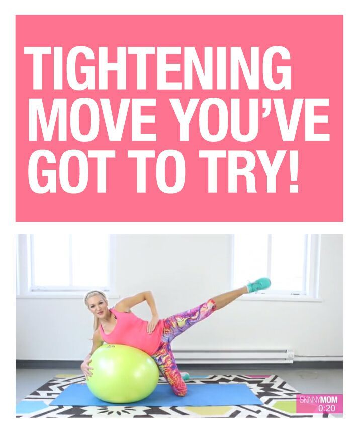 Tighten those obliques with this one move!