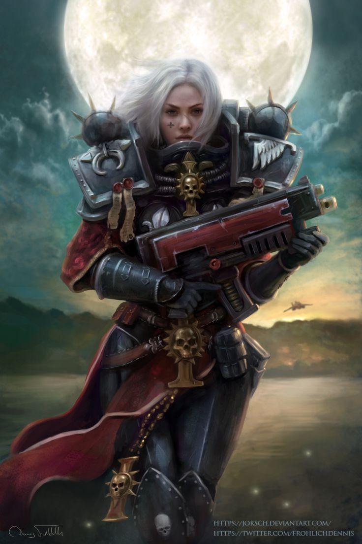 Warhammer 40k sisters of battle #warhammer #sisters # ...