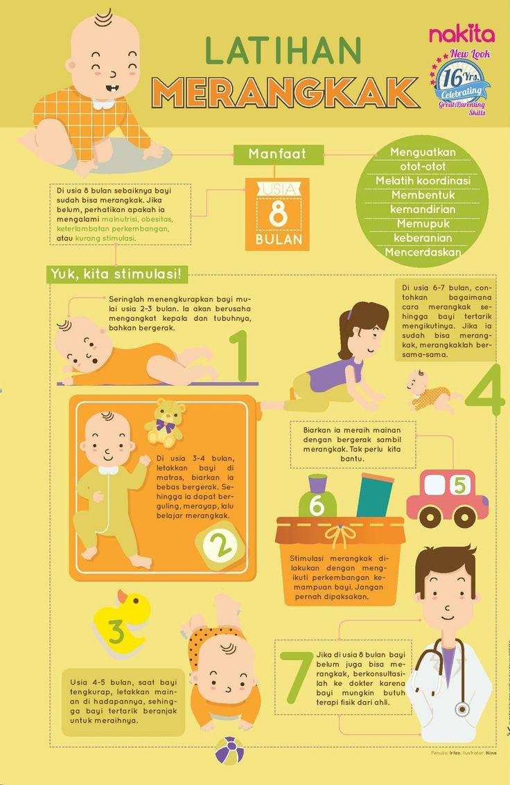 Ini lo manfaat latihan merangkak untuk si kecil...  Begini cara Mama bantu menstimulasinya!