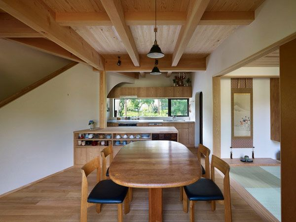 Creatively Adapted to A Moderate Climate: Yatsugatake Villa in Japan