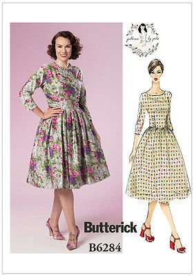 Butterick 6284 #sewing #patterns gertie 50s 60s dress #vintage style retro b6284, View more on the LINK: http://www.zeppy.io/product/gb/2/112082673713/