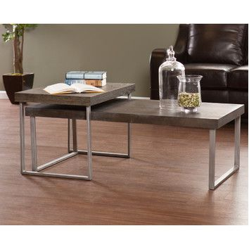 Free Shipping When You Buy Southern Enterprises Newberry 2 Piece Nested Coffee Table Set At Wayfair