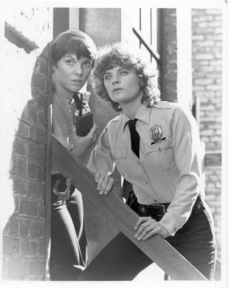 Tyne Daily And Meg Foster in ''Cagney & Lacey
