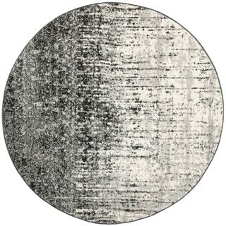 Safavieh Deco Inspired Black Grey Rug Round Ping Great Deals On Oval Square