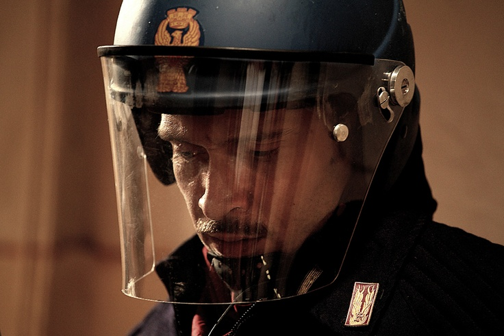 Immagini tratte dal film Diaz
