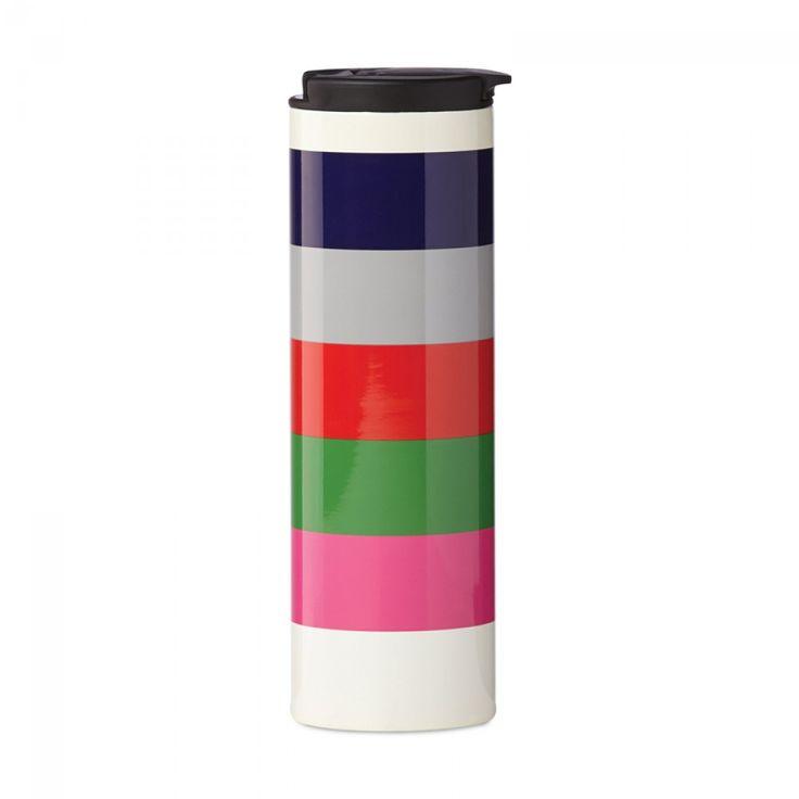 Kate Spade New York® Rainey Stripe Stainless Steel Tumbler | ECS Coffee Inc.  - Canada's Single Serve Coffee, Keurig® K-Cup®, Tassimo®, Nespresso®, & Kitchen Store