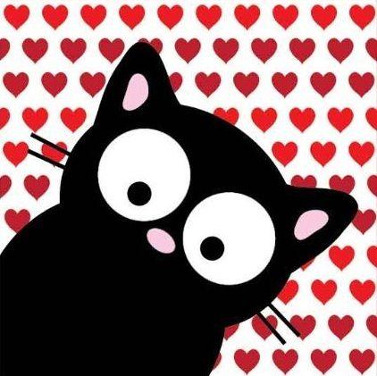 """My Cat Pip"" Valentine"