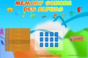 Memory sonore des alphas