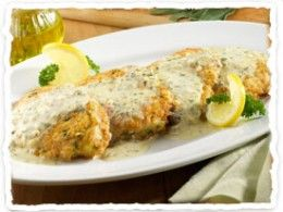 Chicken with lemon & sage. I'll be serving this with homemade pasta