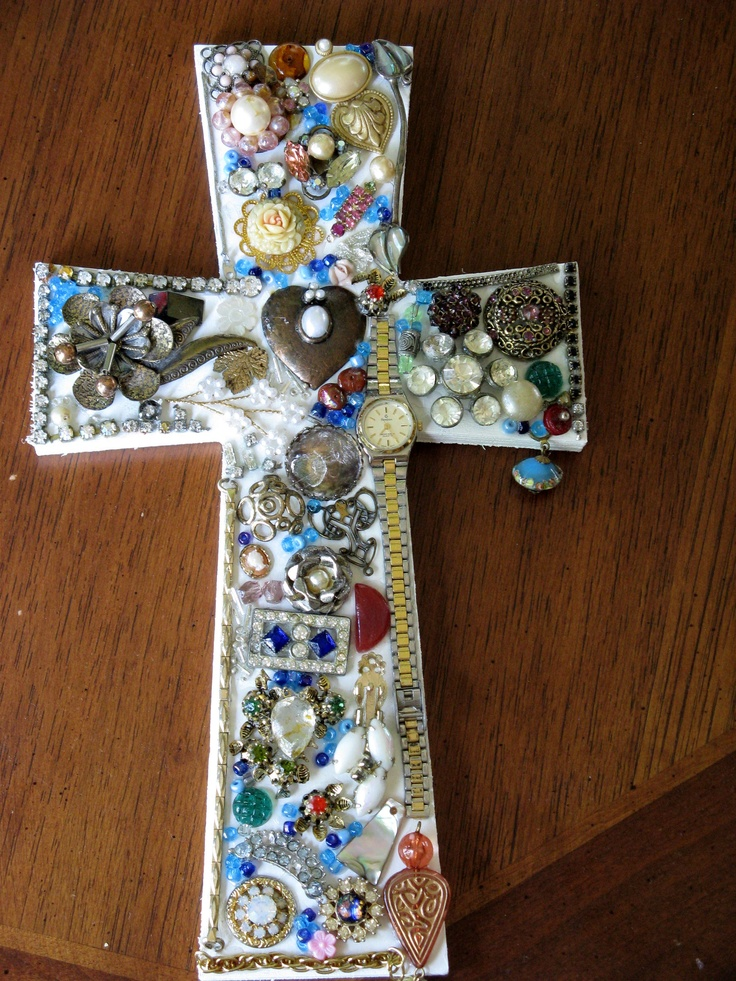 37 best images about crosses on pinterest glass beads for Glass jewels for crafts