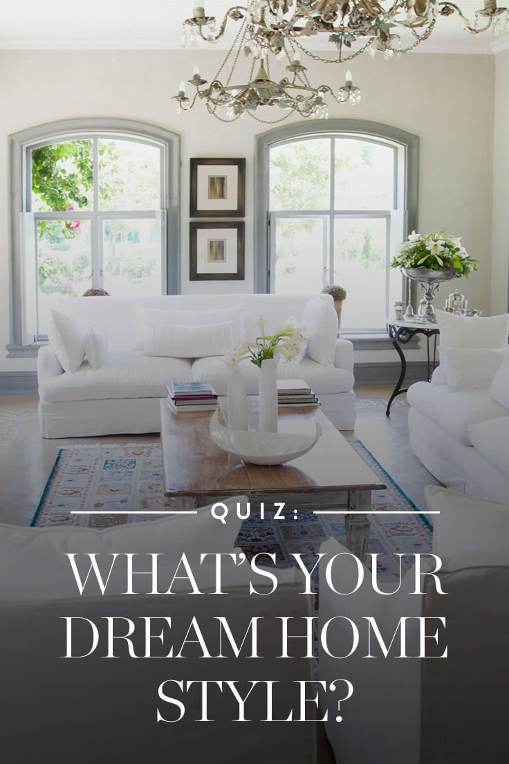 What S Your Dream Home Style Via Purewow Interior Design