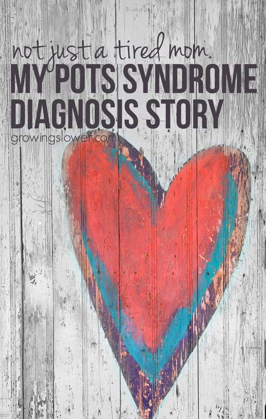 Exhausted? Feel like everything is just so hard? Maybe it's anxiety? Maybe not. 5 doctors and 3 ½ years later, my medical mystery solved: I have Postural Orthostatic Tachycardia Syndrome. This is my POTS Syndrome diagnosis story. Every woman ages 15 to 50 needs to read this, with POTS syndrome symptoms, heart rate info, and tips for getting diagnosed. | Dysautonomia Awareness | Invisible Illness