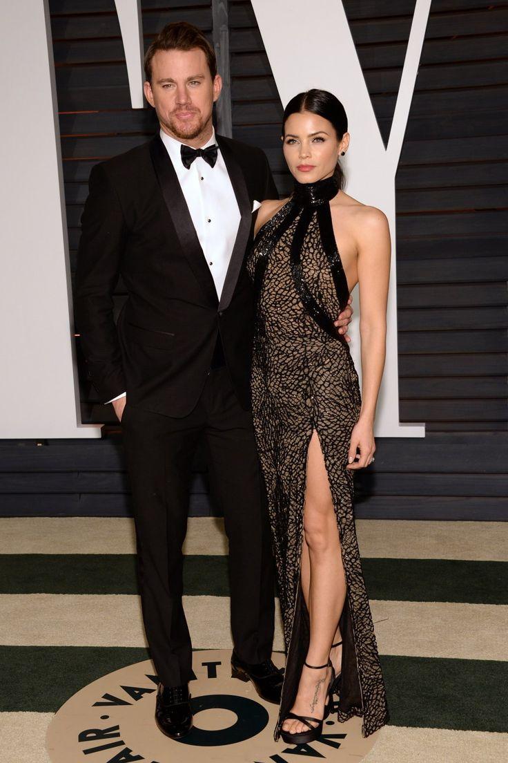 Channing Tatum and Jenna Dewan-Tatum at the Vanity Fair Oscar Party
