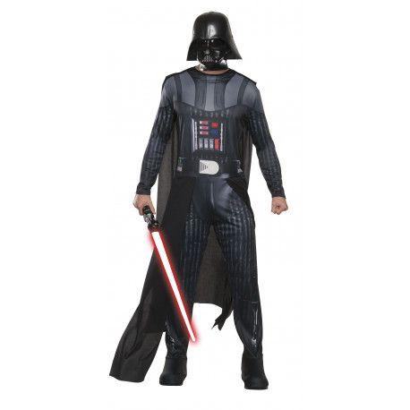 Disfraz de Darth Vader Oficial para Adulto Guerra de las Galaxias #Star #Wars #Costume #Darth #Vader