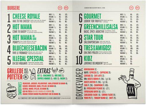 196 best diseño de cartas de restaurantes-accesorios images on