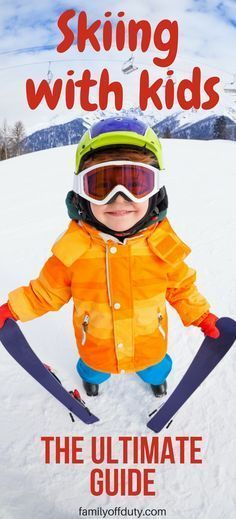 Top tips on making your skiing holidays with kids the best experience. Is it your first ski vacation with family? Or are you a first time skier? Wondering how to go on a ski vacation with a toddler or preschooler? Here is the parent'guide to family ski trip. Ultimate guide to skiing for beginners. Skiing with kids vacation tips. #skiingwithkids #firsttimeskier #familytravel #travel #Familyskivacation #MyTravelDilemma
