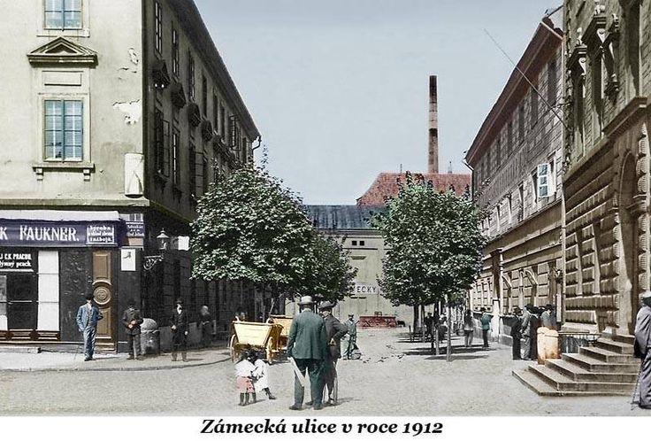 Zámecká ulice  1912