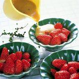 Jordbær i grønn peppersaus - Oppskrifter
