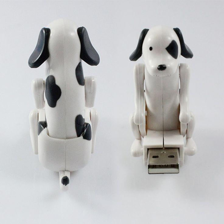 Baru putih mini lucu lucu usb humping spot anjing toy usb gadget untuk pc laptop hadiah untuk anak-anak