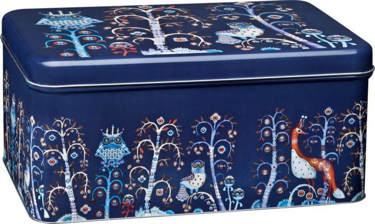 Iittala - Taika Metal box 280 x 178 x 130 mm blue - Iittala.com