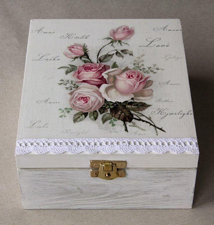 Las 25 mejores ideas sobre cajas decoradas en pinterest y for Cajas grandes de carton decoradas