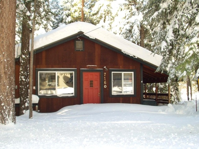 Our driveway is always plowed and free of snow. - Two Morrows Tahoe Cabin on the lake's Westshore - Tahoma - rentals