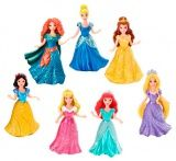 "Mattel X9412 Мини-кукла ""Принцесса Диснея"", набор из 7 кукол"