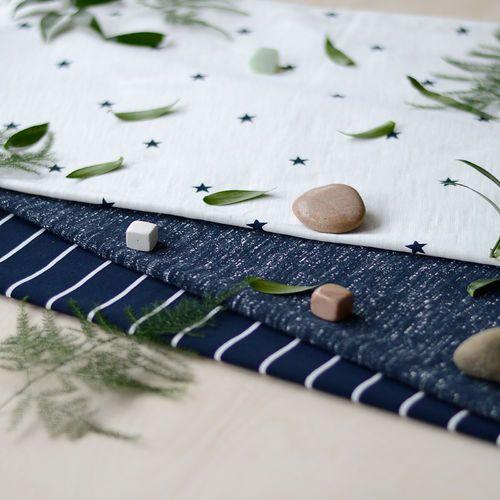 MINISTAR, Navy | NOSH Fabrics Spring & Summer 2016 Collection - Shop at en.nosh.fi | Kevään 2016 malliston kankaat saatavilla nyt nosh.fi