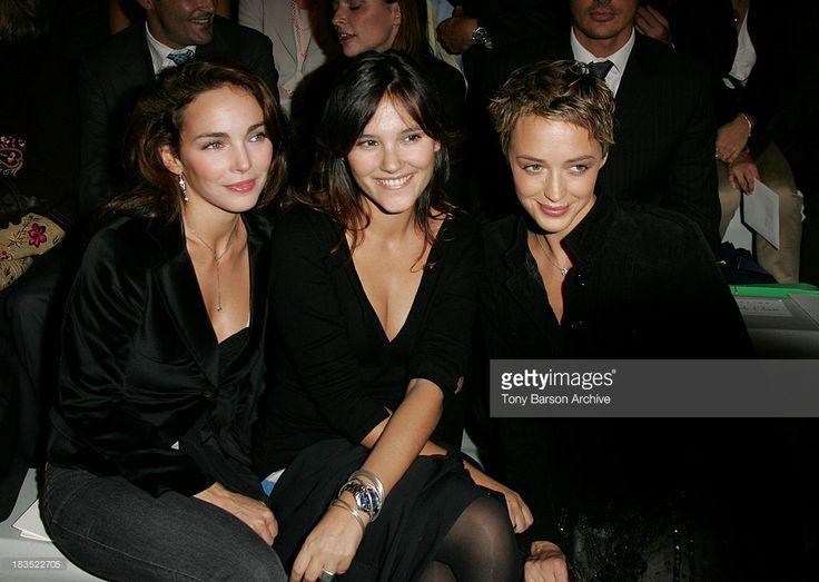 Photo d'actualité : Claire Keim, Virginie Ledoyen and Helene de...