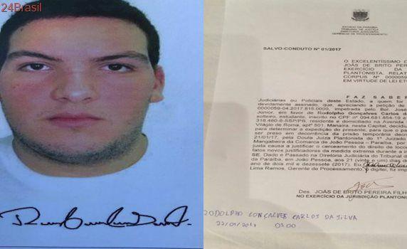 Polícia apura fraude em assinatura de acusado de matar Diogo em Habeas Corpus