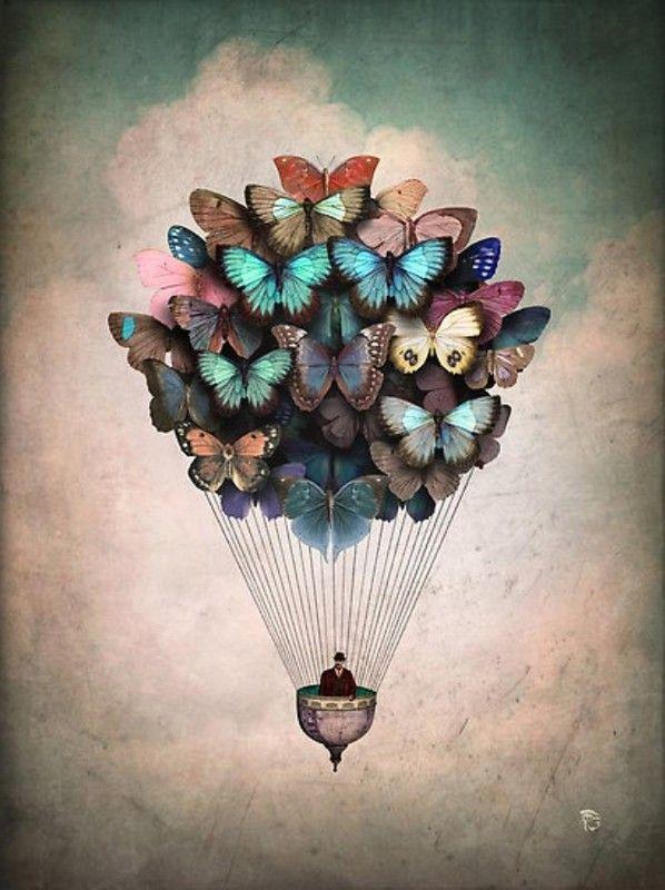 à reprendre avec photo d'enfants et photocopie de papillons