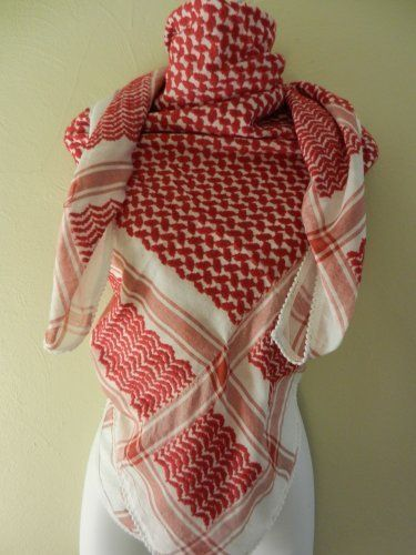how to wear middle eastern scarf
