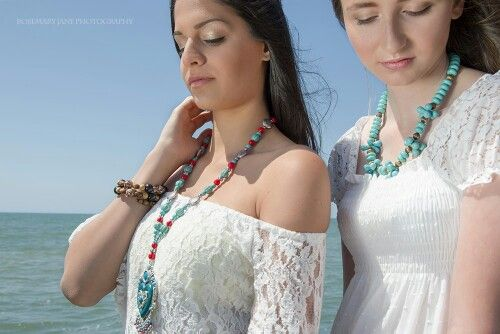 Beachside photoshoot. My jewellery. Makeup by Kylee Rosemary Jane Photography