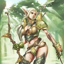 Resultado de imagen para elfa arquera