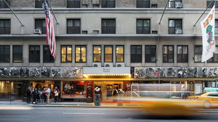 Roger Smith boutique hotel in New York City.