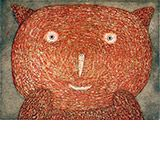 Red Bear by Dean Bowen Available from www.cascadeprintrintroom.com.au. We ship worldwide. Laybys and gift vouchers available