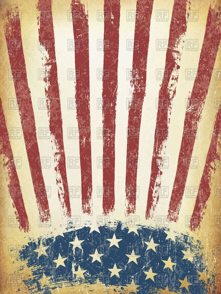 Grunge American flag background to zoom
