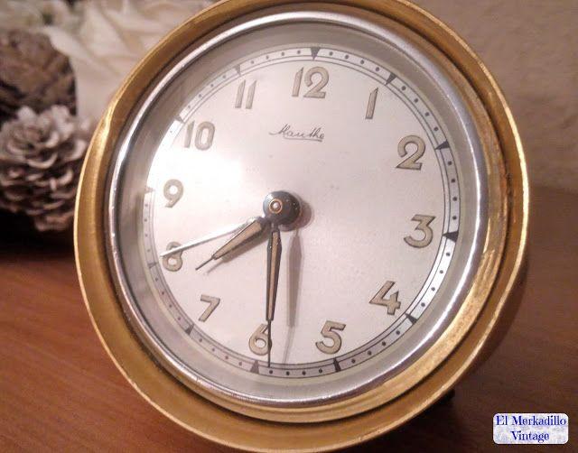 Reloj Despertador Vintage Mauthe (Ref. 0428)