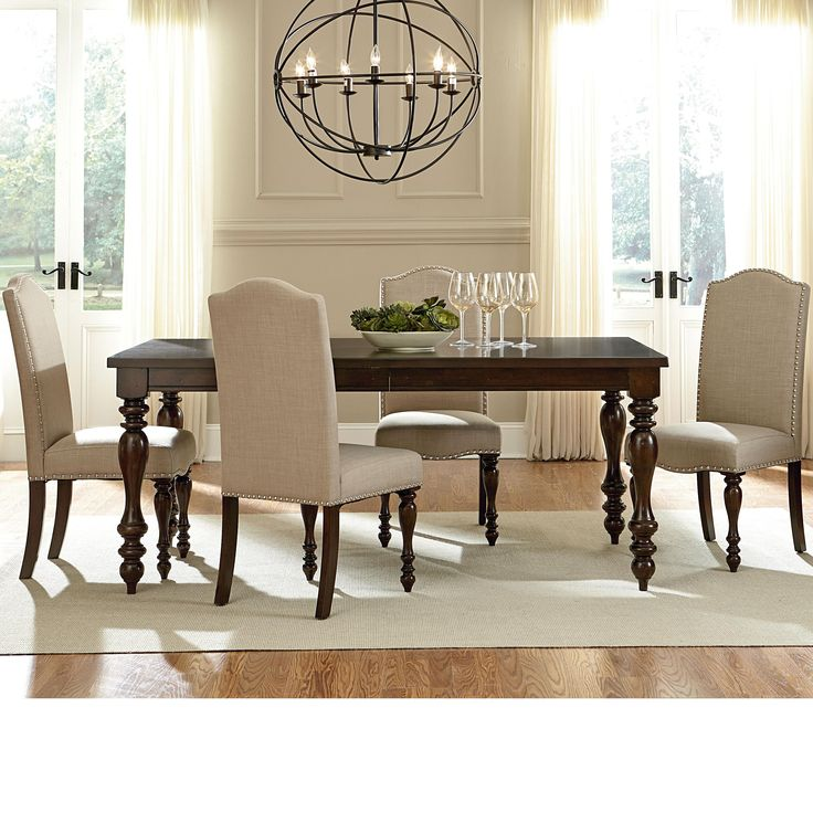 mcgregor dining table and chair set by standard furniture