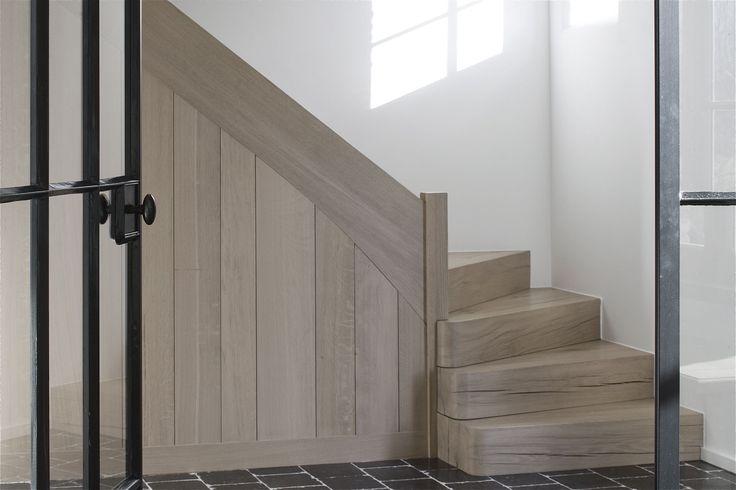 9 beste afbeeldingen van be dendermonde huis interieur for Trap hout wit