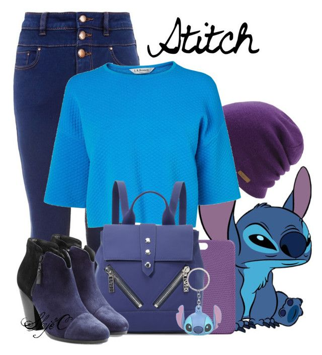 """Stitch - Disney's Lilo and Stitch"" by rubytyra ❤ liked on Polyvore featuring Coal, Maison Takuya, L.K.Bennett, Kenzo, rag & bone, Disney, women's clothing, women, female and woman"