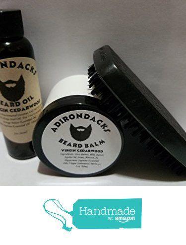 Adirondacks Beard oil 2oz + Balm 2 oz + Free Brush Cedarwood oil Scent from Adirondacks Beard Oil https://www.amazon.com/dp/B01MQG5O3S/ref=hnd_sw_r_pi_awdo_M0Xiyb0CKHNQG #handmadeatamazon